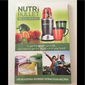🆕 NUTRiBULLET User Guide & Recipe Book (160 page)
